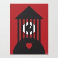 SHARIA LOVE Canvas Print