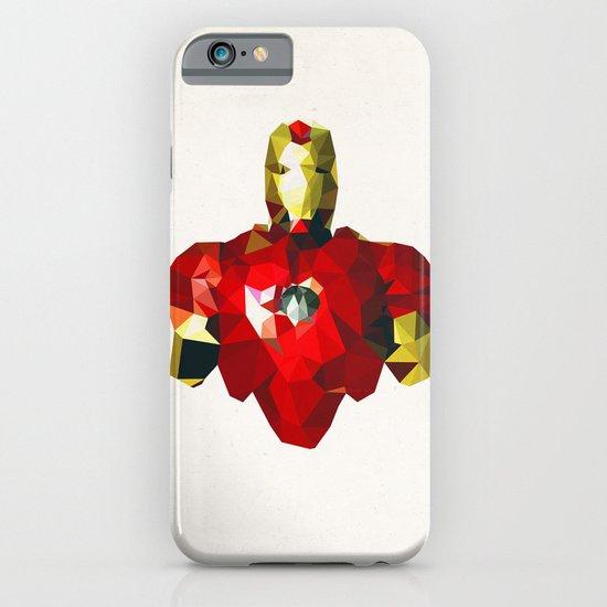 Polygon Heroes - Iron Man iPhone & iPod Case