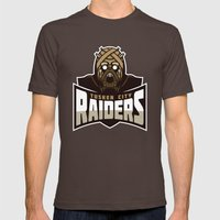 Tusken City Raiders - Ta… Mens Fitted Tee Brown SMALL