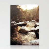 Diana in Winter Stationery Cards