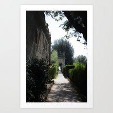 Romantic Rome Art Print