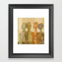 Four Figures Framed Art Print