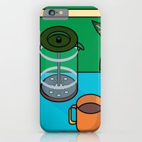 Coffee time iPhone 6 Slim Case