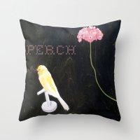 Perch L    Throw Pillow