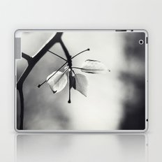 Spring Leaves in Black and White II Laptop & iPad Skin