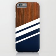 iPhone & iPod Case featuring Wooden Navy by Nicklas Gustafsson