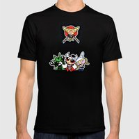 Asgard Puff Mens Fitted Tee Black SMALL