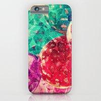 Vintage Jewel Colors Cir… iPhone 6 Slim Case