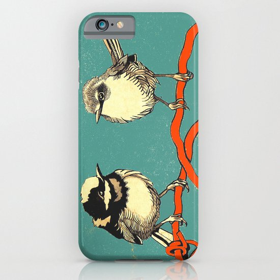 Bird Couple iPhone & iPod Case