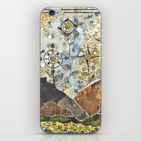 Compass Rose Garden iPhone & iPod Skin