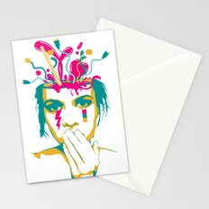 Liquid thoughts:Girl Stationery Cards