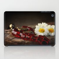 Red Marbles iPad Case