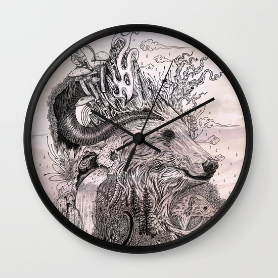 Forest Warden Wall Clock