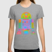 OrTwoDeeTwo  Womens Fitted Tee Tri-Grey SMALL