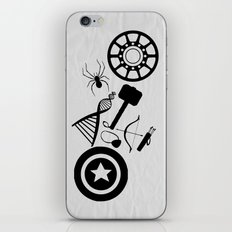 The Avengers Extended iPhone & iPod Skin