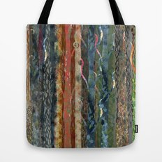 Trunks of Trees Tote Bag