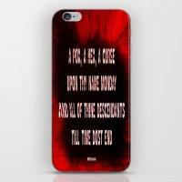 MONDAY - 025 iPhone & iPod Skin