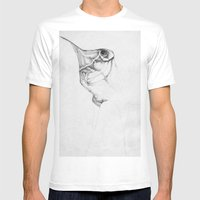 The wingless Mens Fitted Tee White SMALL