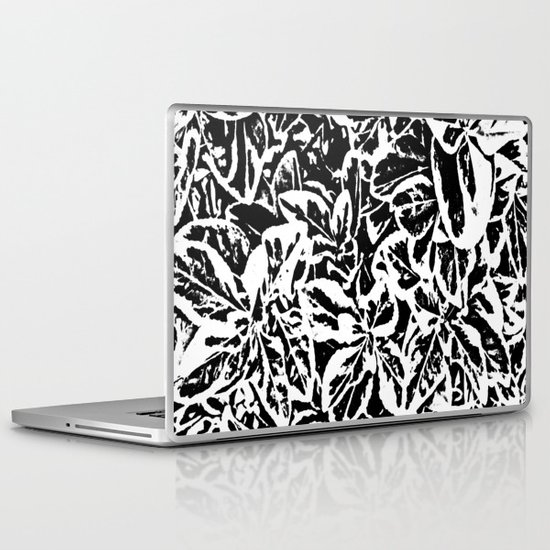 Leaf Me Alone Laptop & iPad Skin