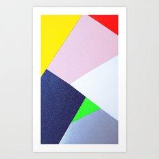 Collage n°1 Art Print