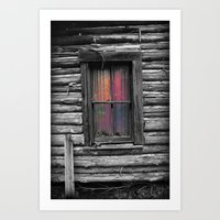 Window and Color Art Print