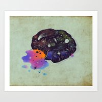 Cosmic Chip Cookie  Art Print