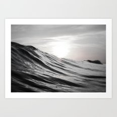 Motion of Water Art Print