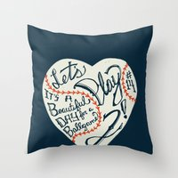 Mr. Cub Throw Pillow