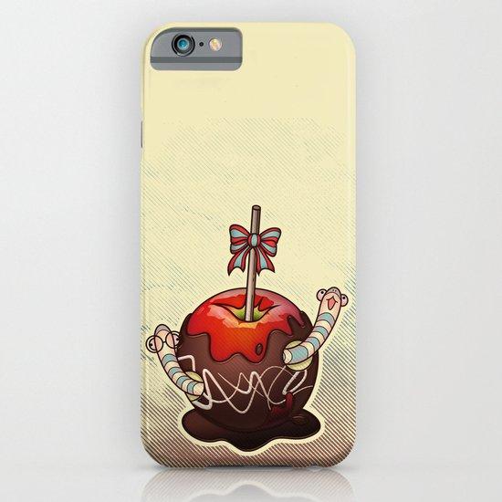 SWEET WORMS 2 - caramel apple iPhone & iPod Case