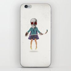 Superhero #9 iPhone & iPod Skin