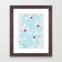 Shape series 4 Framed Art Print
