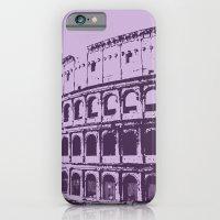 iPhone & iPod Case featuring Purpura Coliseum by LaPetiteJo