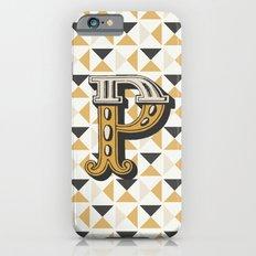 Letter P iPhone 6 Slim Case