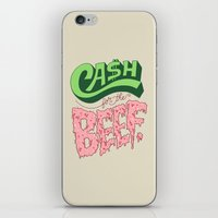 Cash For The Beef iPhone & iPod Skin