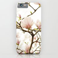 Queen For A Day Pink Magnolia Flower iPhone 6 Slim Case