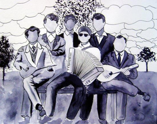 The Orchestra Art Print