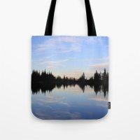 Salmon Lake Tote Bag