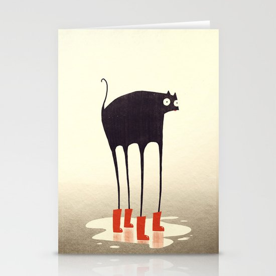 Wellies! Stationery Card