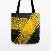Asphalt 1 Tote Bag