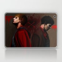 Two Sides Of The Same Co… Laptop & iPad Skin