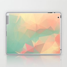 PEACH AND MINT LOWPOLY Laptop & iPad Skin