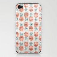 iPhone & iPod Skin featuring Pineapple  by Basilique