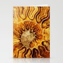 AMAZING AMMONITE Stationery Cards