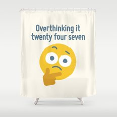 Leave Dwell Enough Alone Shower Curtain
