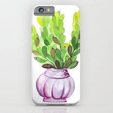 Succulent Vase Slim Case iPhone 6s
