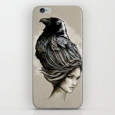 Raven Haired iPhone & iPod Skin