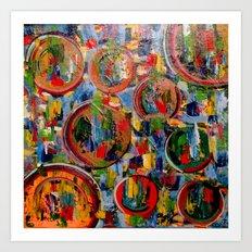 Circles of Life Art Print