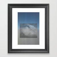 MOUNTAIN SKY Framed Art Print