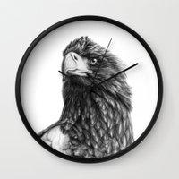 Steller's sea eagle G2013-073 Wall Clock