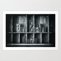 Get $*** Done Art Print